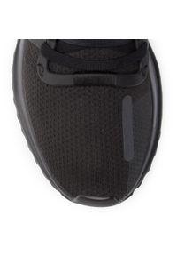 Czarne półbuty Adidas klasyczne, z cholewką