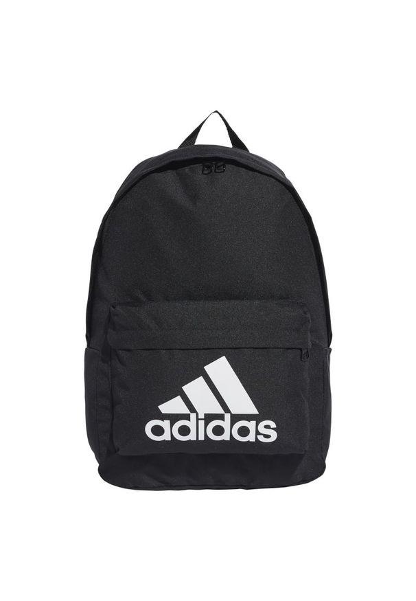 Czarny plecak Adidas casualowy