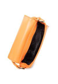 Love Moschino - Torebka LOVE MOSCHINO - JC4277PP0CKN0450 Arancio. Kolor: pomarańczowy. Materiał: skórzane. Styl: klasyczny
