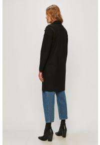 Czarny płaszcz only casualowy, na co dzień, bez kaptura