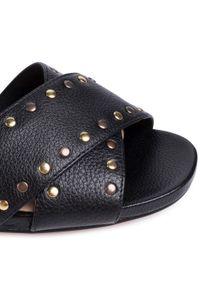 Czarne sandały Clarks na co dzień, casualowe