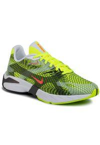 Żółte buty sportowe Nike z cholewką, na co dzień