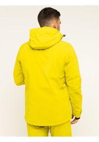Żółta kurtka sportowa salomon narciarska