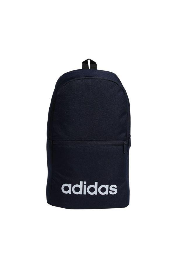 Niebieski plecak Adidas sportowy