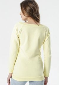 Born2be - Żółta Bluza Bessie. Kolor: żółty #4