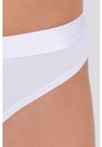 Fila - Brazyliany. Kolor: biały. Materiał: dzianina, materiał. Wzór: gładki