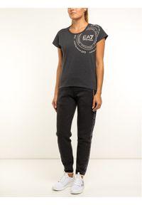 EA7 Emporio Armani T-Shirt 6GTT14 TJ12Z 3909 Szary Regular Fit. Kolor: szary