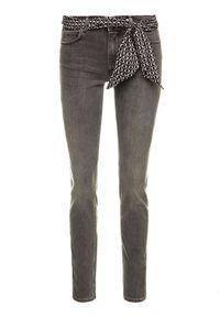 Marc O'Polo Jeansy M07 9069 12103 Szary Slim Fit. Kolor: szary. Materiał: lyocell, elastan, bawełna, poliester, jeans