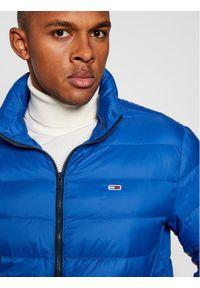 Niebieska kurtka puchowa Tommy Jeans