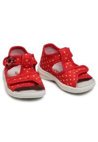 Czerwone sandały Superfit