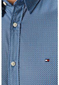 TOMMY HILFIGER - Tommy Hilfiger - Koszula. Kolor: fioletowy. Materiał: tkanina, bawełna