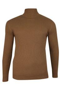 Sweter Brave Soul z golfem, elegancki, na jesień