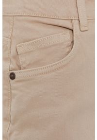 Noisy may - Noisy May - Szorty jeansowe. Okazja: na co dzień. Kolor: szary. Materiał: jeans. Wzór: gładki. Styl: casual