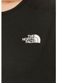 The North Face - T-shirt. Kolor: czarny. Materiał: materiał