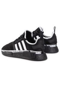 Czarne buty sportowe Adidas Adidas NMD, z cholewką