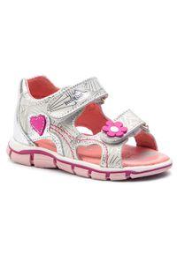 Srebrne sandały RenBut