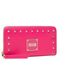 Versace Jeans Couture Duży Portfel Damski E3VWAPE1 Różowy. Kolor: różowy