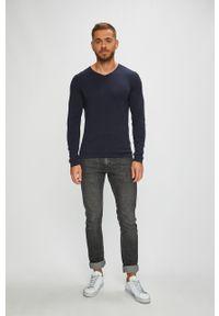 Niebieski sweter PRODUKT by Jack & Jones na co dzień, casualowy