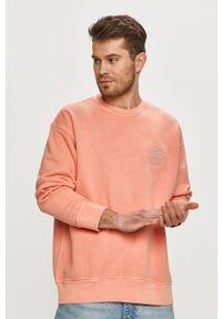 Levi's® - Levi's - Bluza bawełniana. Okazja: na spotkanie biznesowe. Kolor: pomarańczowy. Materiał: bawełna. Styl: biznesowy