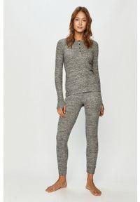 Szara piżama DKNY długa, melanż