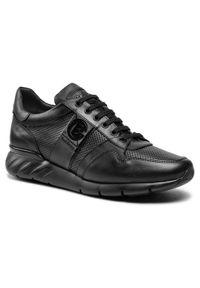 Baldinini - Sneakersy BALDININI - 196314XNAPP000000NXX Nero. Okazja: na co dzień. Kolor: czarny. Materiał: skóra. Szerokość cholewki: normalna. Styl: sportowy, klasyczny, casual