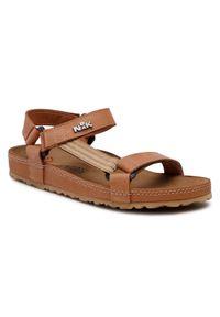 Brązowe sandały Nik