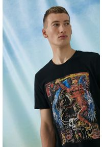 medicine - Medicine - T-shirt bawełniany by Joanna Patejuk Grafika Polska. Kolor: czarny. Materiał: bawełna. Wzór: nadruk