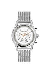 Biały zegarek Trussardi Jeans sportowy