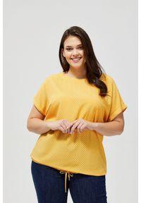 Koszula MOODO krótka, z nadrukiem, z krótkim rękawem