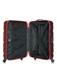 Czerwona walizka Wittchen elegancka