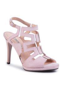 Różowe sandały Libero eleganckie