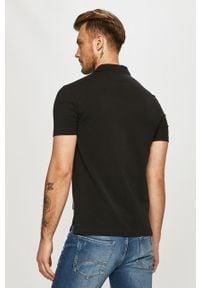 Czarna koszulka polo Armani Exchange casualowa, krótka, polo