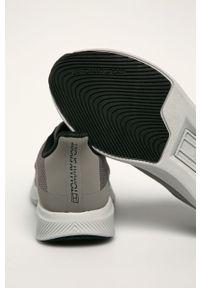 Szare sneakersy Tommy Sport z cholewką, na sznurówki