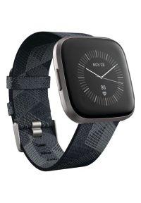 Szary zegarek FITBIT smartwatch