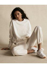 Ralph Lauren - RALPH LAUREN - Kremowe spodnie cargo. Kolor: beżowy. Materiał: tkanina #4