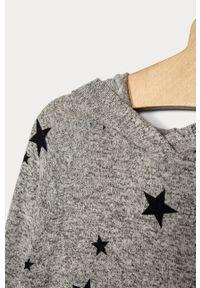 Szara bluza GAP z kapturem, na co dzień, melanż, casualowa