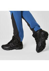 Czarne buty trekkingowe Merrell trekkingowe, z cholewką