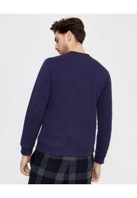 Kenzo - KENZO - Bluza z niebieskim tygrysem. Kolor: niebieski. Materiał: bawełna, prążkowany. Długość rękawa: długi rękaw. Długość: długie. Styl: klasyczny