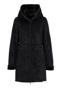 Czarny płaszcz Cellbes elegancki