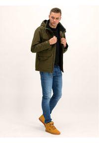 Zielona kurtka zimowa columbia