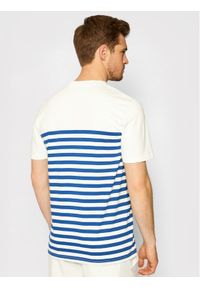 Jack&Jones PREMIUM T-Shirt Bluwilson Crew Neck 12187671 Biały Regular Fit. Kolor: biały