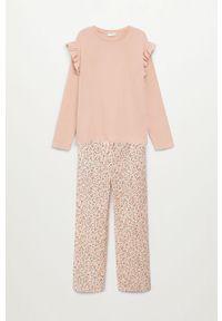 Różowa piżama Mango Kids