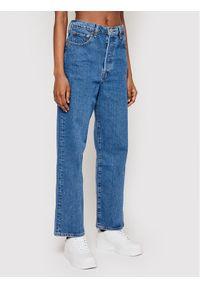 Levi's® Jeansy Ribcage Straight Ankle 72693-0011 Niebieski Straight Fit. Kolor: niebieski