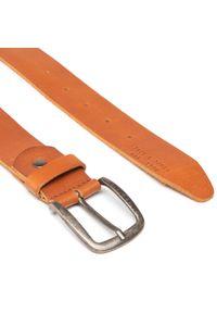 Jack & Jones - Pasek Męski JACK&JONES - Jackpaul Leather Belt 12111286 Mocha Bisque. Kolor: brązowy. Materiał: skóra