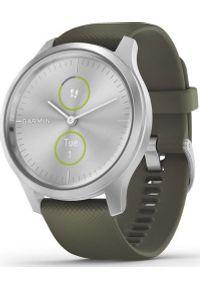GARMIN - Zegarek sportowy Garmin Vivomove Style Zielony (010-02240-21). Kolor: zielony. Styl: sportowy