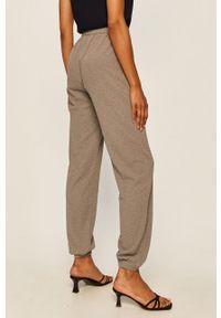 Szare spodnie materiałowe Noisy may