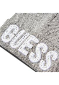 Szara czapka zimowa Guess