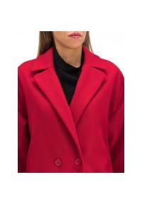 Czerwony płaszcz zimowy Red Valentino