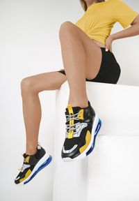 Renee - Czarne Sneakersy Wilkerson. Kolor: czarny