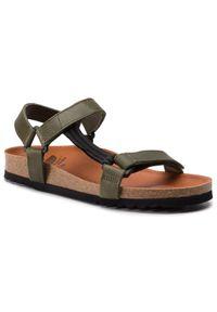Zielone sandały Scholl